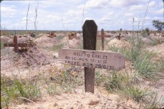 Notice the age of Nelito, Carlos -- thiis cemetery was specifically for children.